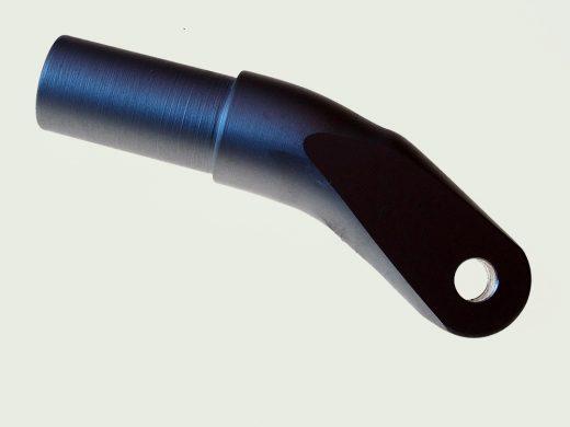Backarm end bent 8mm hole